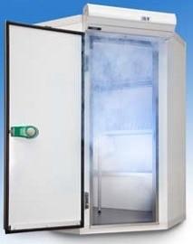 Camera congelare angulara 5,3m³ 1570x1570x2160 K+T