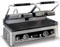 Contact grill, dublu, baza neteda, L560 mm, COMBISTEEL