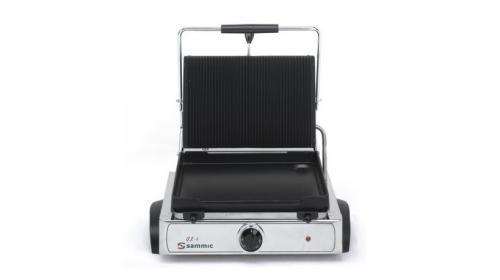 Contact grill simplu baza neteda 365x225 mm GL-6 SAMMIC