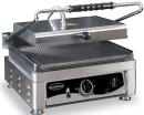 Contact grill, simplu, baza striata, L410 mm, COMBISTEEL