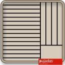 Cos pentru farfurii,inchis,Ø 280-305, P19126F1, PUJADAS