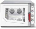 Cuptor gastronomic, injectie abur direct, 5 tavi GN 1/1, electric, SGE 511 SVR.1B, MEC