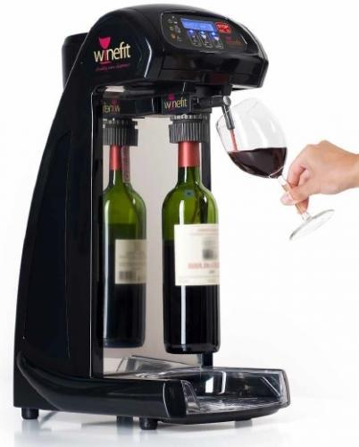 Dozator sticle vin, cu argon, WINEFIT