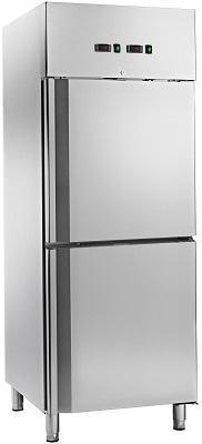 Dulap frigorific refrigerare-congelare 450 litri DFRC600DTV