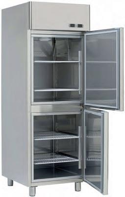 Dulap frigorific refrigerare-congelare 560 litri KTK 709 A K+T