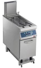 Friteuza electrica cu sistem de filtrare automat al uleiului, 23 litri, E22/F23CEHA4-S, DIAMOND