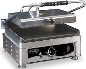 Contact grill, simplu, baza neteda, L410 mm, COMBISTEEL#1