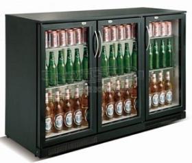Back bar bauturi 298 litri BLACK COMBISTEEL#1