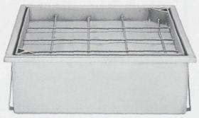 Sifon patrat armat cu grilaj SIF 600#1