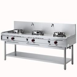 Masina gatit tip wok cu sistem spalare, 3 arzatoare, gaz WGL3-20 DIAMOND#1