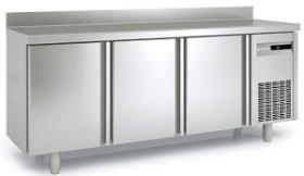 Masa frigorifica refrigerare 3 usi latime 600 cu rebord MRS-200 CORECO#1