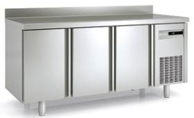 Masa frigorifica refrigerare 3 usi latime 700 cu rebord MRG-200 CORECO#1