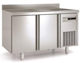 Masa refrigerare cu o cuva, 2 usi si rebord MRSF-150 CORECO#1