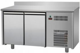 Masa frigorifica refrigerare 2 usi latime 600 cu inaltator la perete#1