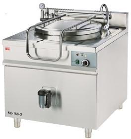 Marmita 100 litri, incalzire indirecta, electrica KE-100-O GASTRO-HAAL#1