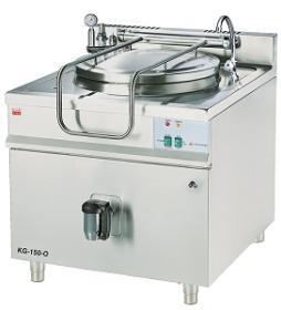 Marmita 150 litri, incalzire indirecta, gaz KG-150-O GASTRO-HAAL#1