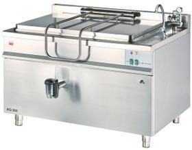 Marmita 200 litri, incalzire indirecta, gaz KG-200 GASTRO-HAAL#1