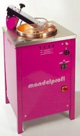 Masina de prajit/glasat nuci, samburi, seminte, gaz MP/G MANDELPROFI#1