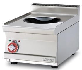 Masina gatit tip wok cu inductie linia 600 PCIWT-64ET LOTUS#1