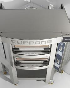 Cuptor vatra 8+8 pizza, angular, electric, CR835/2TS, Caravaggio TS, CUPPONE#2