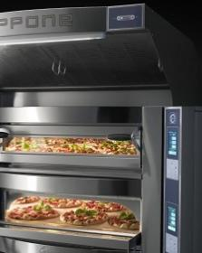 Cuptor vatra 8+8 pizza, angular, electric, CR835/2TS, Caravaggio TS, CUPPONE#3