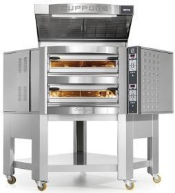 Cuptor vatra 8+8 pizza, angular, electric, CR835/2CD, Caravaggio CD, CUPPONE#1