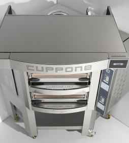 Cuptor vatra 8+8 pizza, angular, electric, CR835/2CD, Caravaggio CD, CUPPONE#2