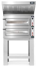 Cuptor vatra 6+6 pizza, electric, TP635/2CM, Tiepolo, CUPPONE#1