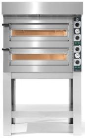 Cuptor vatra 4+4 pizza, electric, TZ425/2M, Tiziano, CUPPONE#1
