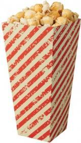 Cutii Popcorn -White and Red Stripes Paperboard Carton -1170 ml 01PCBO1EN COLPAC#1