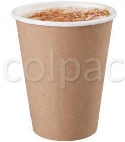 Pahar carton -Kraft Compostable Paper Cup -170ml 04CMC6K COLPAC#1