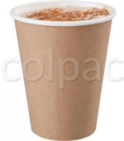 Pahar carton -Kraft Compostable Paper Cup -350ml 04CMC12K COLPAC#1