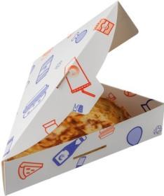 "Cutie prajituri –Printed Slice Box ""Ssupa Snax"" 01PT1LS COLPAC#1"