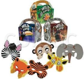 Pachete petreceri copii –'Wild Life' kit 03PACK47 COLPAC#1