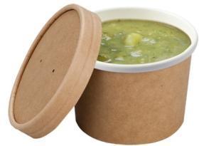 Bol supa -Compostable Souper Cup -225ml 04S08SCC COLPAC#1