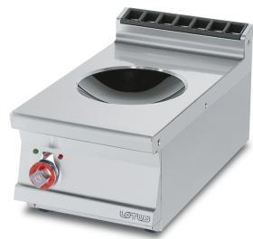 Masina gatit cu inductie tip wok, top, electrica, linia 700, PCIWT-74ET, LOTUS#1
