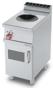 Masina gatit cu inductie tip wok cu suport inchis, linia 700, PCIW-74ET, LOTUS#1