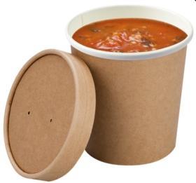 Bol supa -Compostable Souper Cup -450ml 04S16SCC COLPAC#1