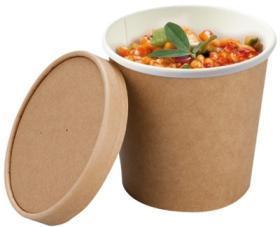 Bol supa -Compostable Souper Cup -750ml 04S26SCC COLPAC#1