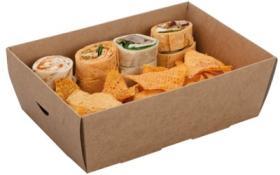Tavi servire -Large Platter Box Quarter Insert 01PLTLQI COLPAC#1