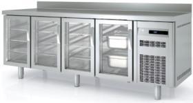 Masa frigorifica congelare 4 usi de sticla cu rebord MCGV-250 CORECO#1