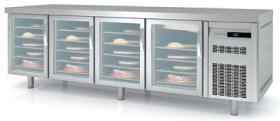 Masa frigorifica congelare, patiserie, 4 usi de sticla, MCPV-250 CORECO#1