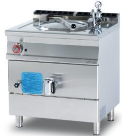 Marmita 50 litri, incalzire indirecta, gaz, linia 700 PD50-78G LOTUS#1