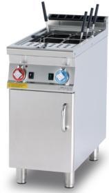 Masina fiert paste 1 cuva, gaz, cu dulap inchis, linia 900 CP-94G LOTUS#1