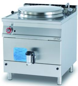 Marmita 140 litri, incalzire directa, gaz, linia 900 PD150-98G LOTUS#1