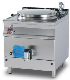Marmita 100 litri, incalzire indirecta, gaz, linia 900 PI100-98G LOTUS#1
