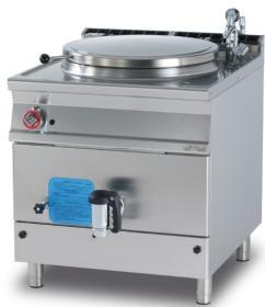 Marmita 135 litri, incalzire indirecta, gaz, linia 900 PI150-98G LOTUS#1