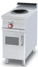 Masina gatit cu inductie tip wok, cu suport inchis, linia 900,  PCIW-94ET, LOTUS#1