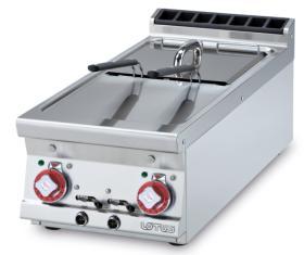 Friteuza dubla 8+8 litri, electrica, top, linia 900, F2/8T-94ET, LOTUS#1