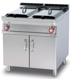 Friteuza dubla 25+25 litri, electrica, cu suport, linia 900, F2/25-98ET, LOTUS#1